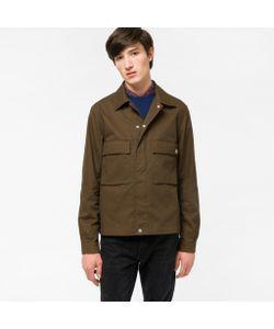 Paul Smith | Mens Cotton-Twill Shirt Jacket