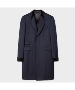 Paul Smith | Epsom Coat With Velvet Trims