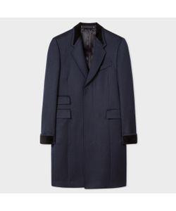 Paul Smith | Epsom Coat With Velvet Trims