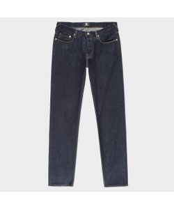 Paul Smith   Tapered-Fit 12oz Pepper N Salt Organic Jeans