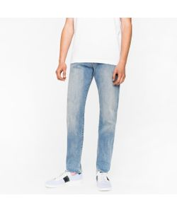 Paul Smith | Tapered-Fit 9.5oz Light-Wash Stretch-Denim Jeans