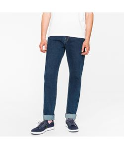 Paul Smith | Tapered-Fit 12oz Pepper N Salt Organic Jeans