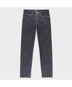 Paul Smith   Classic-Fit 12oz Pepper N Salt Organic Jeans