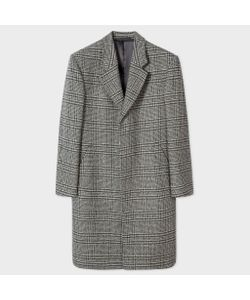 Paul Smith   Check Wool And Cashmere-Blend Epsom Coat