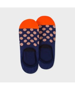 Paul Smith | Mens Polka Dot Loafer Socks