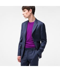 Paul Smith | Mens Tailo-Fit Mini-Check Wool Blazer