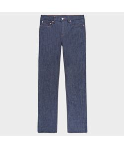 Paul Smith | Tape-Fit Raw Denim Jeans With Peace Stitch Detail
