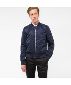 Paul Smith | Mens Bomber Jacket With Quilted Lining