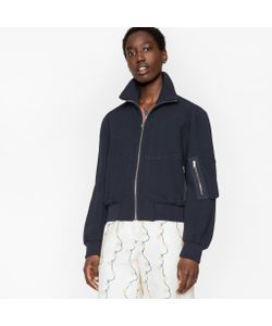 Paul Smith | Cotton-Blend Bomber Jacket With Artist Stripe Placket