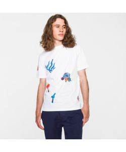 Paul Smith | Painted Print Supima-Cotton T-Shirt