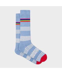 Paul Smith | Mixed Bag Block Stripe Socks