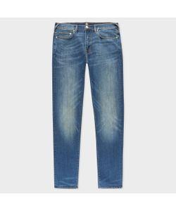 Paul Smith   Slim-Fit 9.5oz Dark-Wash Stretch Jeans