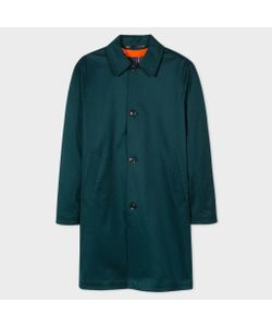 Paul Smith | Mens Stretch Cotton-Twill Mac With Detachable Liner