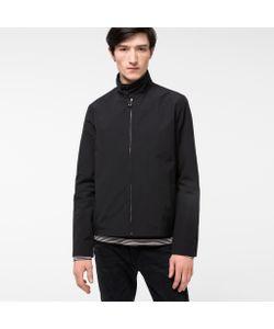 Paul Smith | Mens Showerproof Cotton-Blend Harrington Jacket