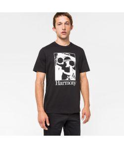 Paul Smith | Mens Organic Harmony Print T-Shirt