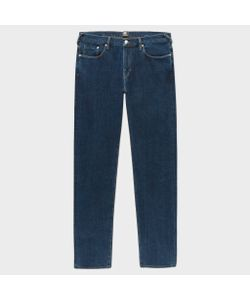 Paul Smith   Tapered-Fit 14oz 4-Way Stretch Denim Mid-Wash Jeans