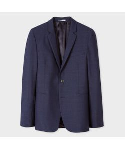 Paul Smith | Slim-Fit Wool And Mohair-Blend Multi-Colour Crosshatch Blazer