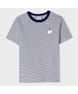 Paul Smith | Striped T-Shirt With Rabbit Logo
