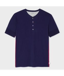 Paul Smith | Jersey Short Sleeve Henley Top