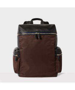 Paul Smith | And Leather And Nylon Backpack