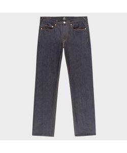 Paul Smith   Standard-Fit 13oz Unlucky Selvedge Raw Denim Jeans
