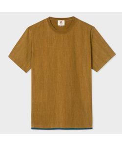 Paul Smith | Mens Washed Layered-Hem Ear T-Shirt