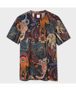 Paul Smith | Slim-Fit Monkey Print T-Shirt