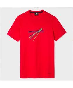 Paul Smith | Slim-Fit Sticks Print Organic T-Shirt
