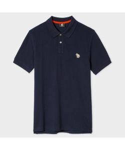Paul Smith   Zebra Logo Cotton Polo Shirt