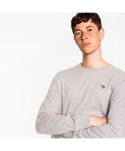 Paul Smith | Organic-Cotton Zebra Logo Long-Sleeve T-Shirt