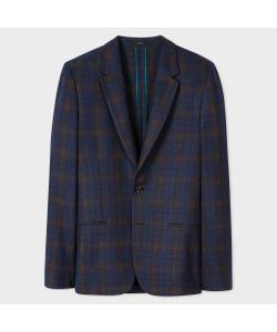 Paul Smith | Bouclé Check Unlined Wool-Blend Blazer