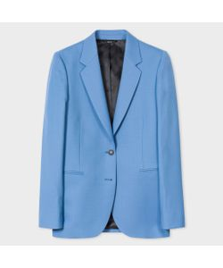 Paul Smith | A Suit To Travel In Cornflower Two-Button