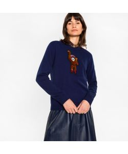 Paul Smith | Sweater With Monkey Embroidery