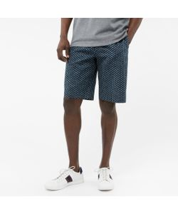 Paul Smith | Textu-Cotton Painted Dot Print Shorts