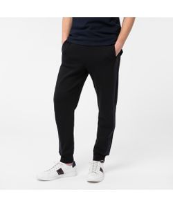 Paul Smith | Mens Loopback-Cotton Sweatpants With Contrast Side-Stripes