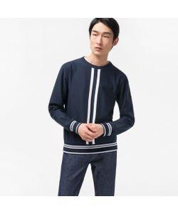 Paul Smith | Loopback Sweatshirt With Double-Stripe
