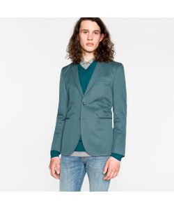 Paul Smith | Slim-Fit Cotton And Linen-Blend Buggy-Lined Blazer