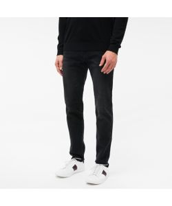 Paul Smith | Mens Tape-Fit Washed Stretch-Denim Jeans