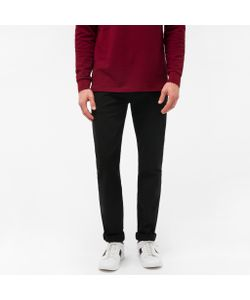 Paul Smith | Mens Tapered-Fit Garment-Dyed Lightweight Jeans