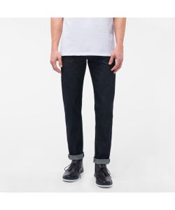 Paul Smith | Mens Tape-Fitrinse Ozone-Wash Organic-Cotton Jeans