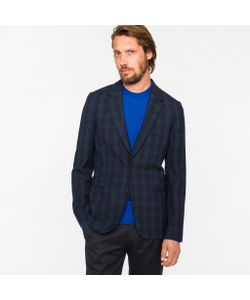 Paul Smith | Tailored-Fit Check Textured Blazer