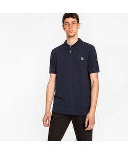Paul Smith | Organic Piqué Zebra Logo Polo Shirt