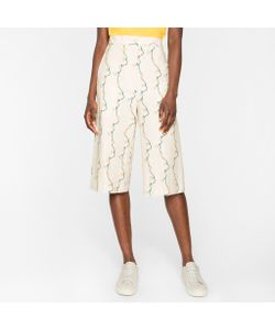 Paul Smith | Jacquard Shorts With Daisy-Chain Print