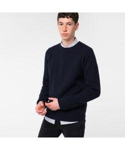 Paul Smith   Mens Ribbed Merino Wool Sweater