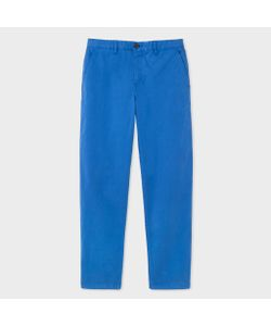 Paul Smith | Mens Tape-Fit Washed Garment-Dyed Pima-Cotton Stretch Chinos