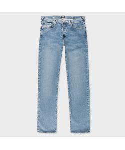 Paul Smith | Tapered-Fit Light Antique-Wash Jeans