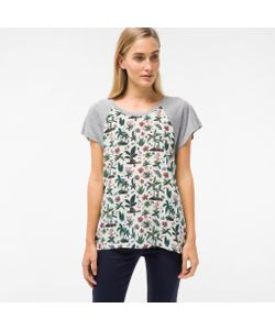 Paul Smith   T-Shirt With Monkey Island Print Silk Front