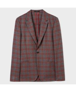 Paul Smith   And Check Unlined Blazer