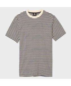 Paul Smith   And Navy Stripe Supima T-Shirt