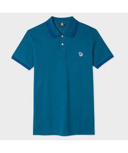 Paul Smith | Slim-Fit Zebra Logo Polo Shirt With Indigo Tipping